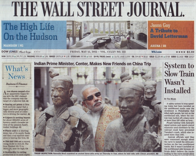 WSJ cover
