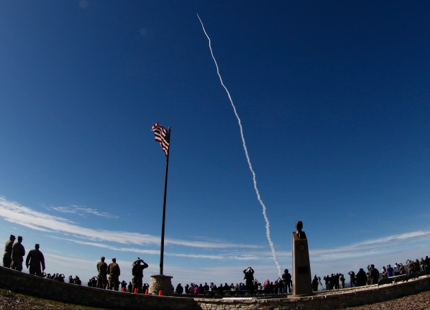 Missile-Defense Interceptor Launched From Vandenberg AFB