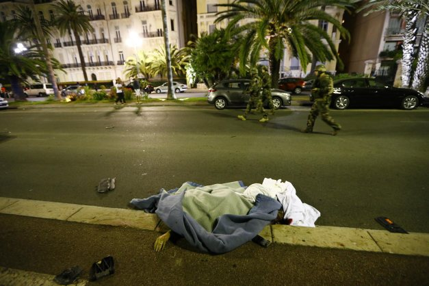 Truck Kills 84 in Nice France on Bastille Day 2016