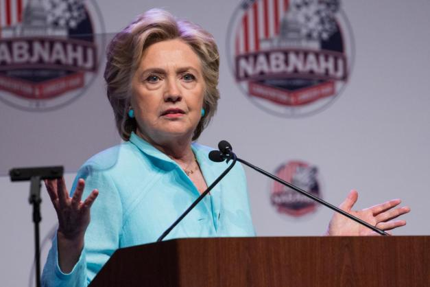 Hillary Clinton Speaks at Journalist Conference