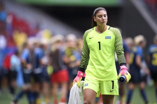 RIO 2016 - Soccer: Women's: Sweden Beats USA 4-3