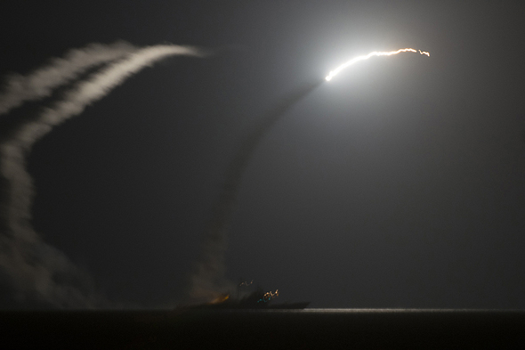 U.S. Launches Missile Strike Against Syria