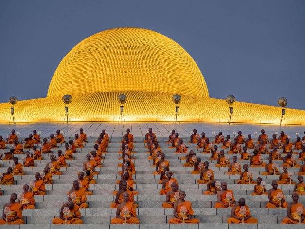 Makha Bucha Day at Wat Phra Dhammakaya