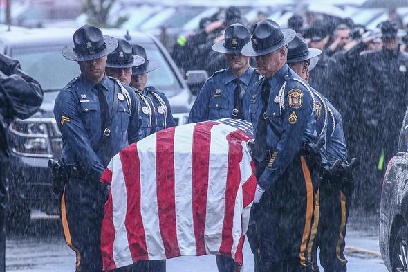 Corporal Stephen J. Ballard Funeral