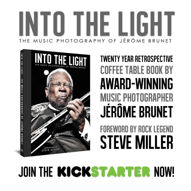 Into The Light : The Music Photography of Jérôme Brunet