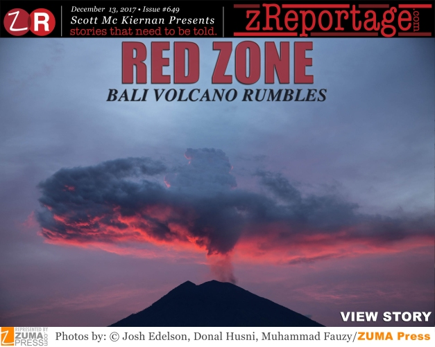 RED ZONE - Bali Volcano Rumbles