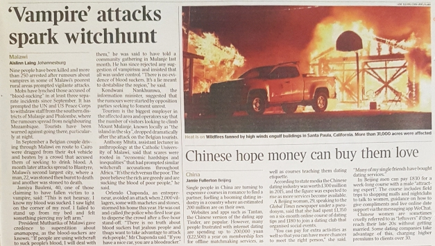 KM5PC7_Zuma Press_The Times_page 39_Dec 6
