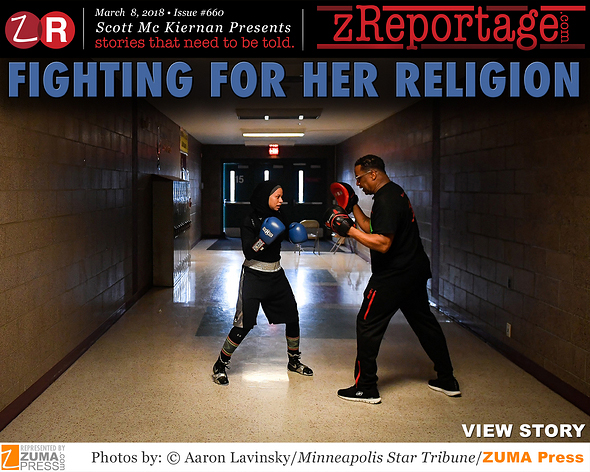 Fighting For Her Religion