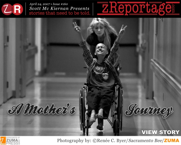 A Mother's Journey : 2007 Pulitzer in Feature Photography