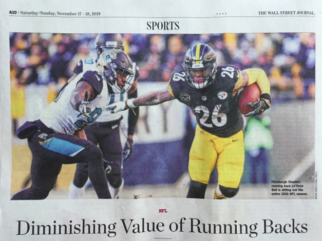 Brian Kunst via ZUMA Press Has Wall Street Journal Sports Cover