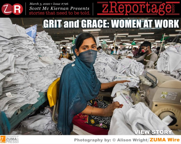 GRIT AND GRACE: Women at Work