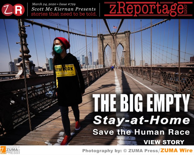 THE BIG EMPTY: The Pandemic's NEW Normal for Public Spaces
