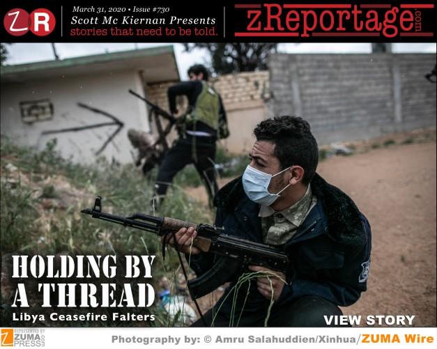 Holding By A Thread: Libya Ceasefire Falters
