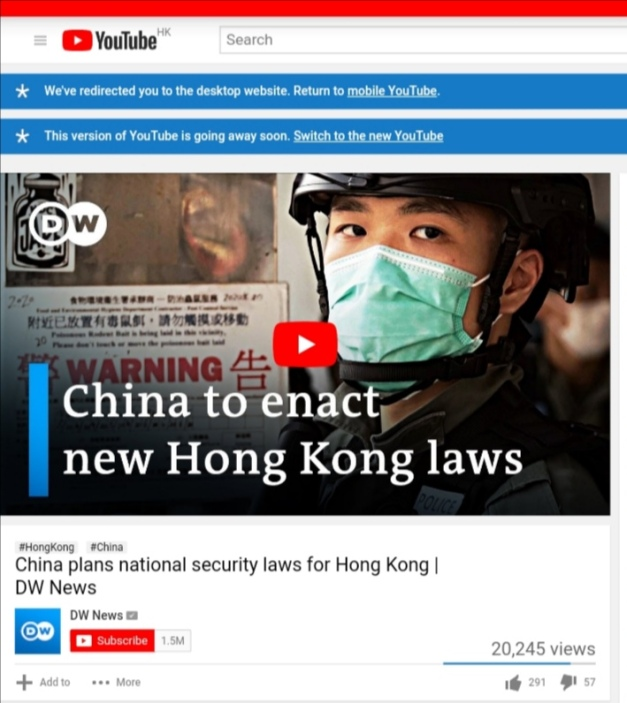 MY picture used for DW News - YouTube without my credit_20200626_Liau Chung Ren_